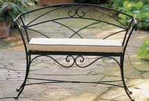 iron bench exterior