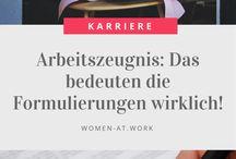 Arbeitszeugnis
