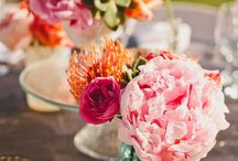 Flowers and centerpiece  / by Andrea Ness
