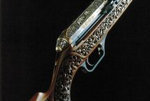 Guns, Pretty / Guns custom finish, engraved, antique, rare / by Ari Lindgren