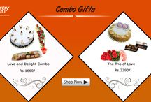 Combo gifts / Sometimes just a gift is not enough and we totally understand the confusion. That is why we have hampers consisting of 2 or more gifts, making things easier for you.