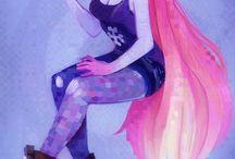 Hipster Artwork Illustration