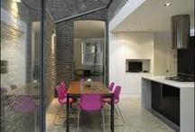 kitchen with side return