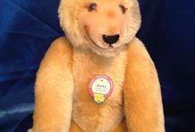 Adorable Antique Steiff Teddy Bears / Antique Steiff Teddy Bears