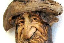 Carved Wood / by Eileen Sayther-West