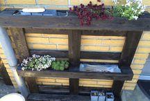 Vores have / Ombygning af terrassen