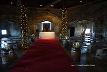 Our Castle wedding flowers Pendennis Castle/St Mawes Castle