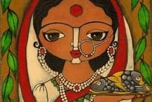 Indian art / by Manju Menon
