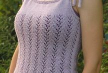 Knitting / Knitted tank top