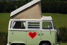 caravans en auto