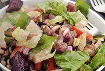 Healthy Veg Lunch Salads