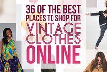 Vintage clothes ❤