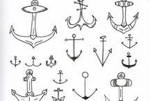 Simple tatoveringer