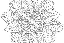 Coloring -Adult Book Pages