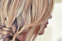 hair updos / by Meg Che
