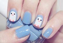 namalované nehty