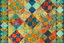 a quilt Batiks / by marla forsythe