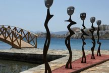 Love and Art at Minos Beach / If it's art and love you are looking for this summer, then Minos Beach is a destination that caters for both! http://goo.gl/UaUDqm