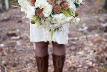 white rustik wedding