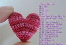 Crochet - Hearts !