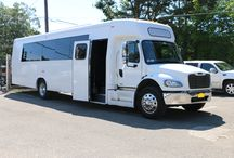 Party Buses / Shuttle Bus / Sir Oliver Limousine owns and operates all vehicles listed