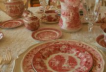 Beautiful chinaware.