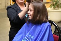 Wigs 4 Kids Cut-a-thons / Cut-a-thons hosted to raise awareness of Wigs 4 Kids and garner support through hair donations.