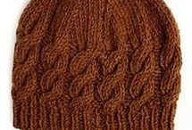 Knit crochet hats