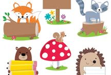 Woodland Friends Theme / Create a camping adventure with Woodland Friends!