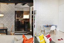 3D & Textured Walls