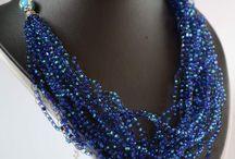 náhrdelníky háčkované