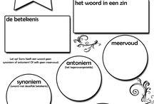 onderwijs woordenschat