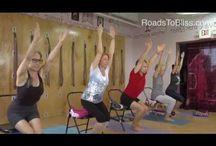 Yoga videos / Video of iyengar yoga teachers