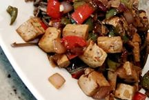 Vegan Tofu and Stir-fries / Main dishes