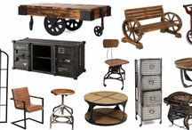 Industrial Furniture / Industrial furniture has its own charm and best compliment to loft area @shakuntimpex