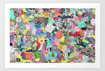 Inedit   Prints / Textile prints designed by Inedit