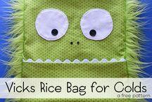 Vicks vapour rice bag