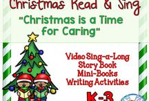 December Literacy Activities / You'll find interactive ideas and freebies for December themed Literacy activities, songs, games, stories, plays, writing and reading resources for children age 3-12.