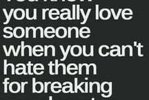 Break up quotes / Sad things