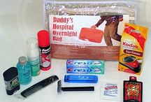 New Father Necessities  / Help make a Father-to-be's life a little less stressful.
