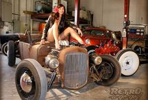 Garage PinUp / by Francesco Ippolito