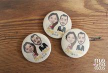 Souvenir: PINS personalizados Monadas