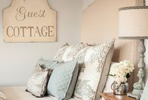Bed & breakfast style / Shabby AND chic ideas for a bed & breakfast style