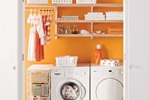 Laundry room makeover / by Leslie Golson