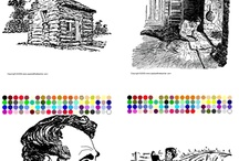 Presidents of the United States - U.S. Presidents / U.S. President learning activities include interactive printable coloring pages. / by Apples4theTeacher.com