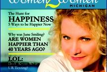 W2W Covers / Women 2 Women Michigan Magazine Covers
