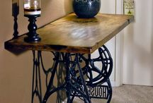 Old sewing machines / Project - sewing machine table