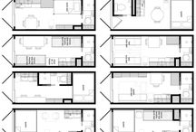 architectural plans and projects / küçük m2 ler... Ve diğer.