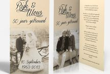50 jaar getrouwd opa en oma <3