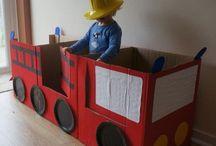 Kartong/ cardboard förskolan